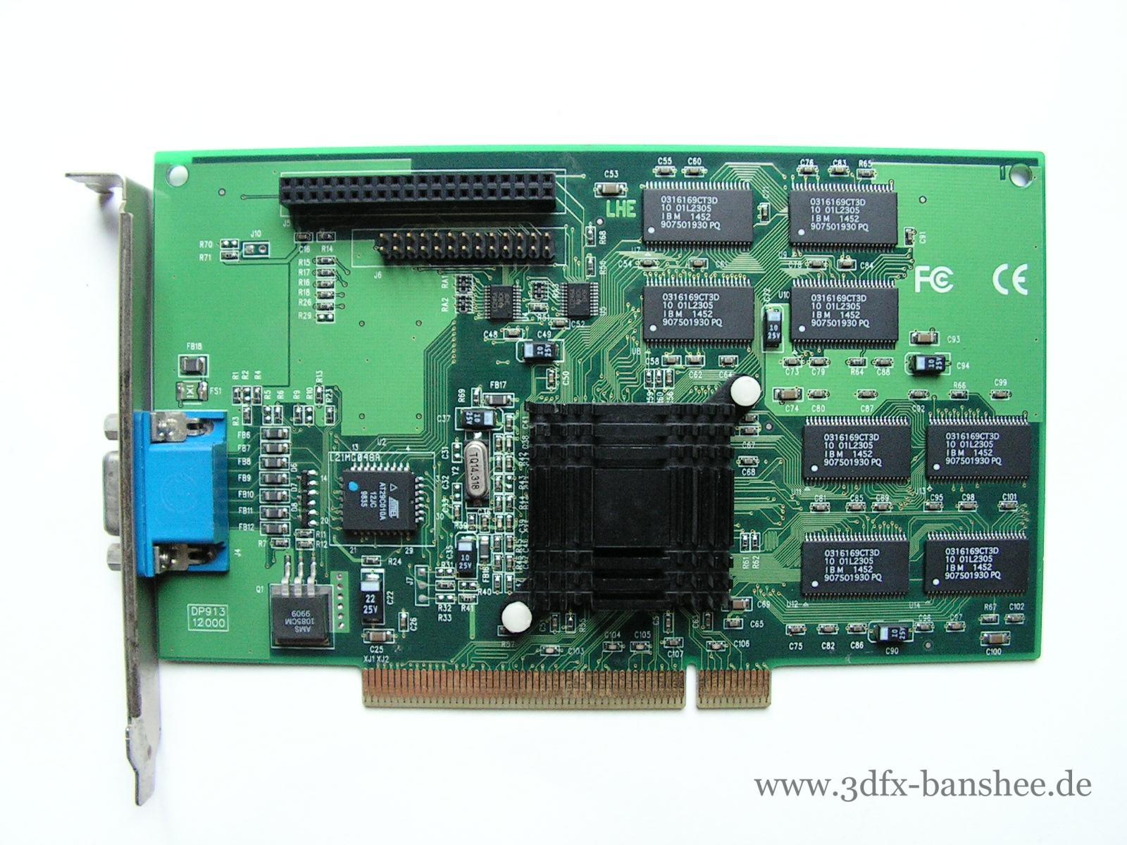 I-O Magic MagicVideo Banshee 3D PCI - Front