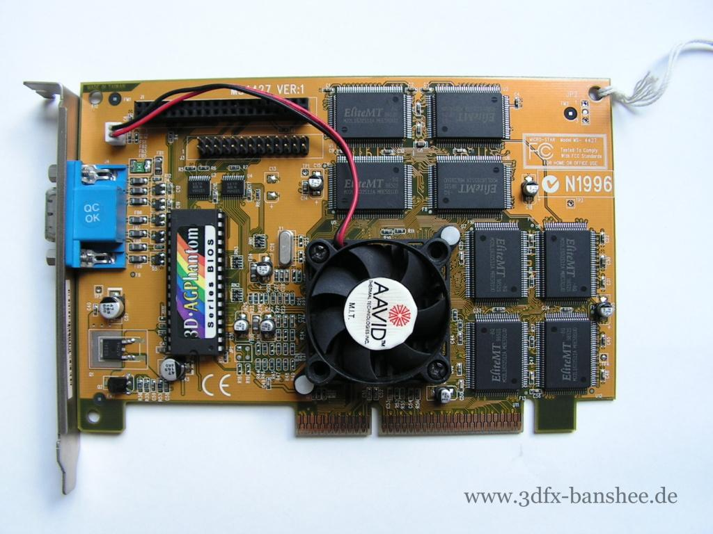 MSI 3D AGPhantom - Front