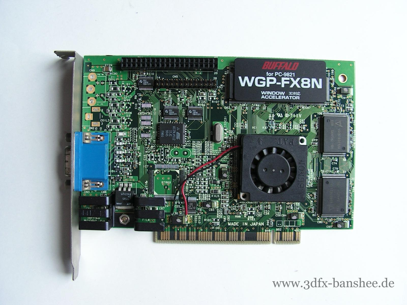 Melco Buffalo WGP-FX8N PCI - Front